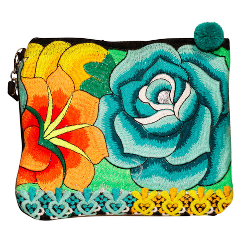Amelia Embroidered Clutch Bag