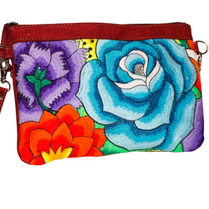 Natalia Embroidered Clutch Bag