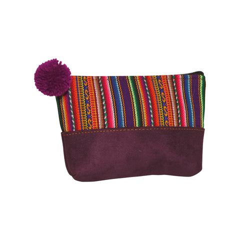 Sabina Pom Pom Purse - Medium