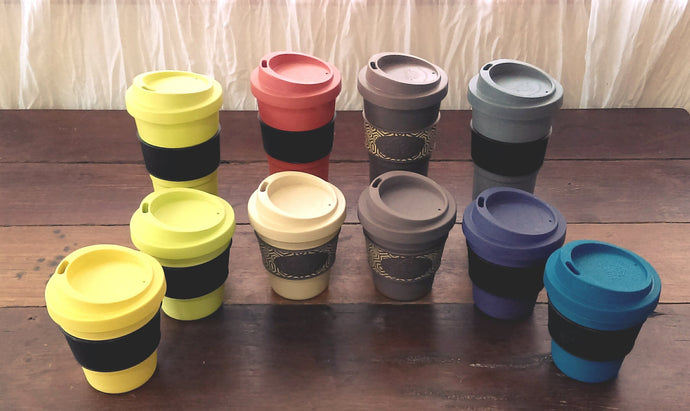 Reusable Bamboo Coffee Cups