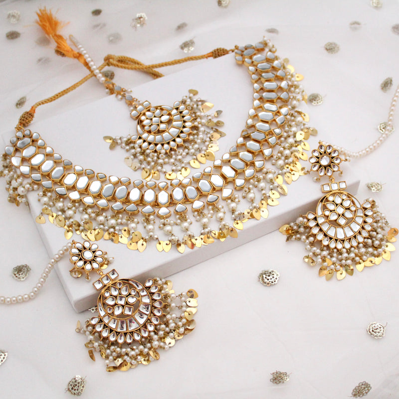 Pipal Patti Necklace Set
