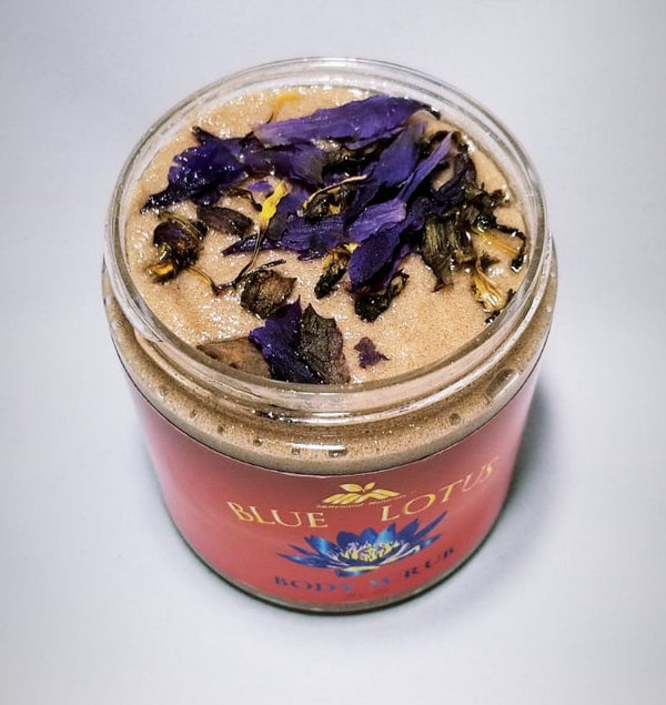 Blue Lotus Body Scrub
