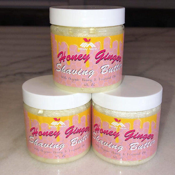 Honey Ginger Shaving Butter (PRE-ORDER)