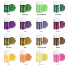 Load image into Gallery viewer, 32 pc Fine Glitter Set