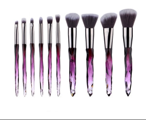 10pc Make Up Brush Set