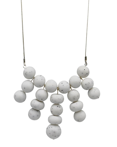 Lily Necklace - Marble