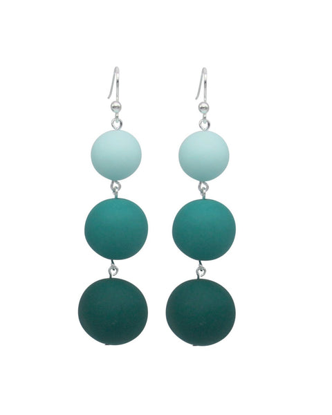Ombre 3 Drop Earring