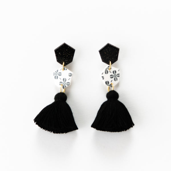 Fleur Earrings 2.0 - White Clover