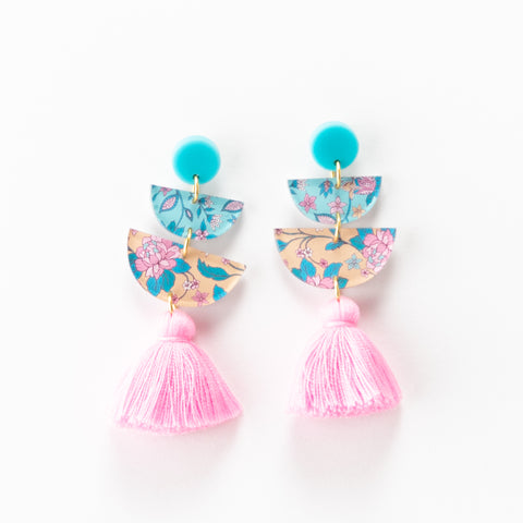 Spring Rose Earrings