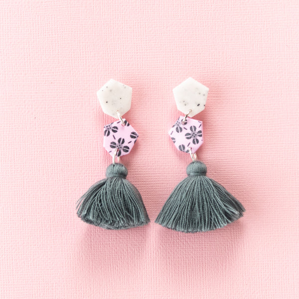 Fleur Earrings 2.0 - Multi Clover