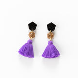 Fleur Earrings 2.0 - Purple