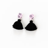 Fleur Earrings - Clover Pink