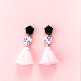 Fleur Earrings 2.0 - Pink Clover