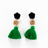 Fleur Earrings 2.0 - Emerald