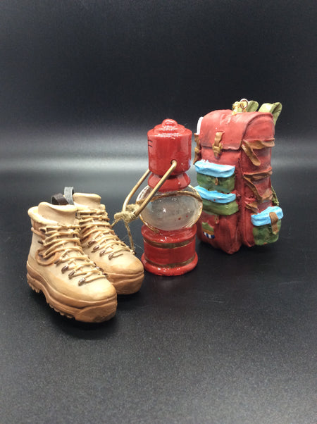 Lanterns, Backpack and Boots - HartFelt Keepsakes