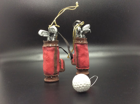Fore!! Golf Bag Ornament