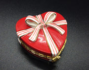 Porcelain Hinged Heart Box - HartFelt Keepsakes