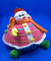 Fabric Snowman Doll - HartFelt Keepsakes