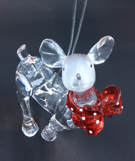 Crystal Deer with Scarf - HartFelt Keepsakes