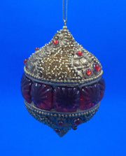 Byzantine Jewel Ball Ornament - HartFelt Keepsakes