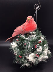 Red Dove Ornament (Clip-On) - HartFelt Keepsakes