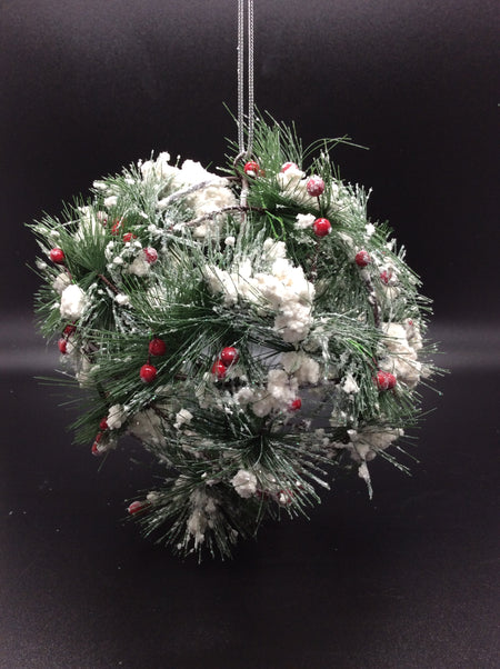 Garland Ball Ornaments - Winter Wonderland
