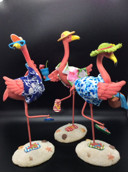 Pink Flamingo Ocean Side - HartFelt Keepsakes