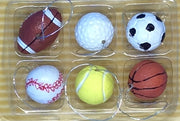 Sports Balls Miniature Ornaments (packs of 6) - HartFelt Keepsakes