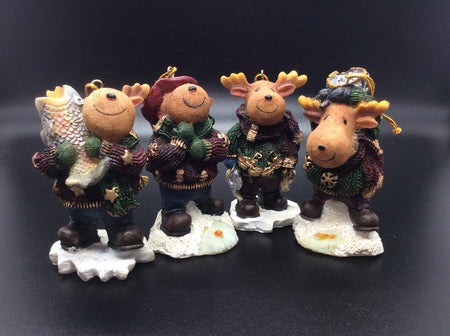 Vintage Moose Collection: It's a Great Day for Fishing - HartFelt Keepsakes