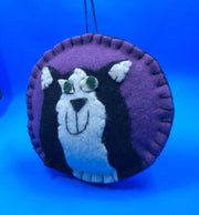 Felt Cats of many Colors Ornament or Bean Bag Toss - HartFelt Keepsakes
