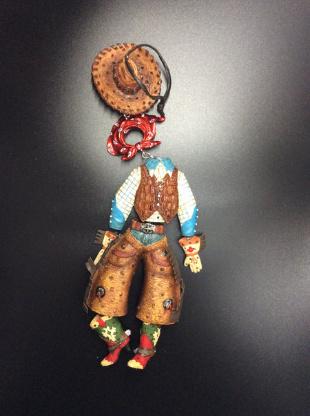 Dangly cowboy - HartFelt Keepsakes