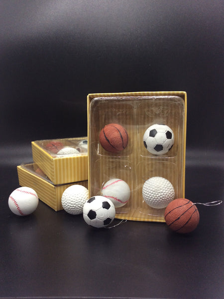 Sports Balls, Soccer, Baseball, Golf and Basketball - HartFelt Keepsakes