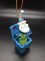 Pop! Goes the Jack-In-The-Box Santa Ornament - HartFelt Keepsakes