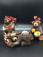 Life is Good Holiday Bears - HartFelt Keepsakes
