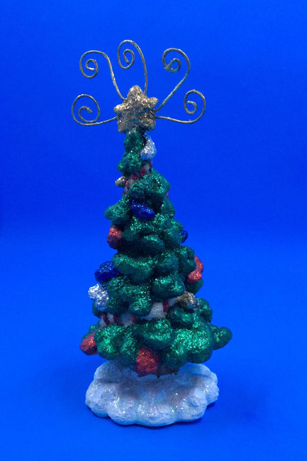 Glitzy Bobble Ceramic Holiday Tree - HartFelt Keepsakes