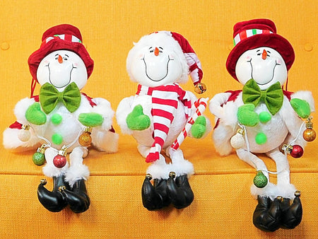 Happy Bendy Snowman ( JUST ONE LEFT) ...get him now, BE HaPpY - HartFelt Keepsakes