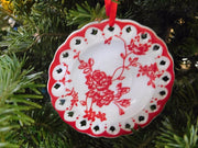 Grandma's Cookie Plate Ornament - HartFelt Keepsakes