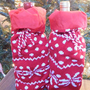 Snowflake Wine Bottle Bag - HartFelt Keepsakes
