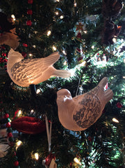 Two Turtle Doves Ornament and Light Cover - HartFelt Keepsakes