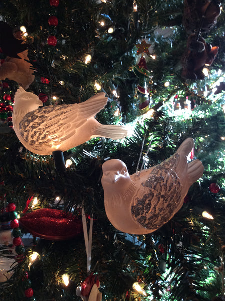 Two Turtle Doves Ornament and Light Cover
