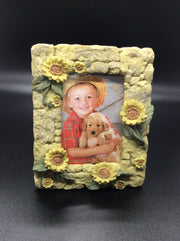 Tulip, Rose, Sunflower Photo Frame - HartFelt Keepsakes