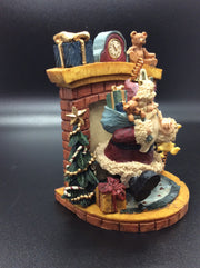 Santa's Coming Down the Chimney - HartFelt Keepsakes