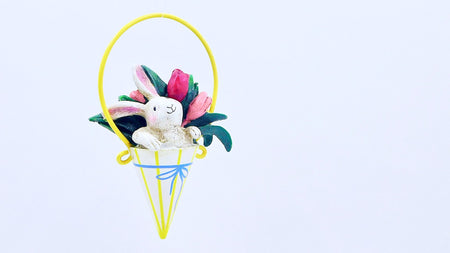 Hop in to Spring Bunny Basket - HartFelt Keepsakes