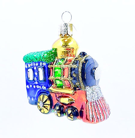 Sparkling Train Ornament - HartFelt Keepsakes