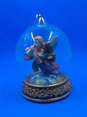 Cherub Snow Globe Ornament - HartFelt Keepsakes