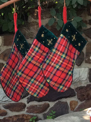 Traditional Tartan Christmas Stockings - HartFelt Keepsakes