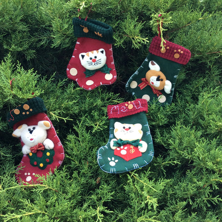 Stocking, Mini Animal: Puppy & Kitten - HartFelt Keepsakes