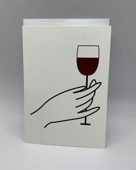 WINE MUCH? Heartfelt Note Cards