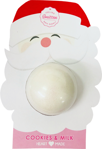 Cookies & Milk Bath Bomb (Clamshell) 4 Oz
