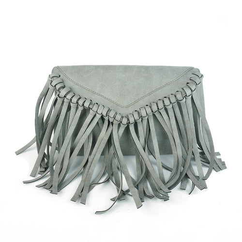 BOHO FRINGE CROSS BODY